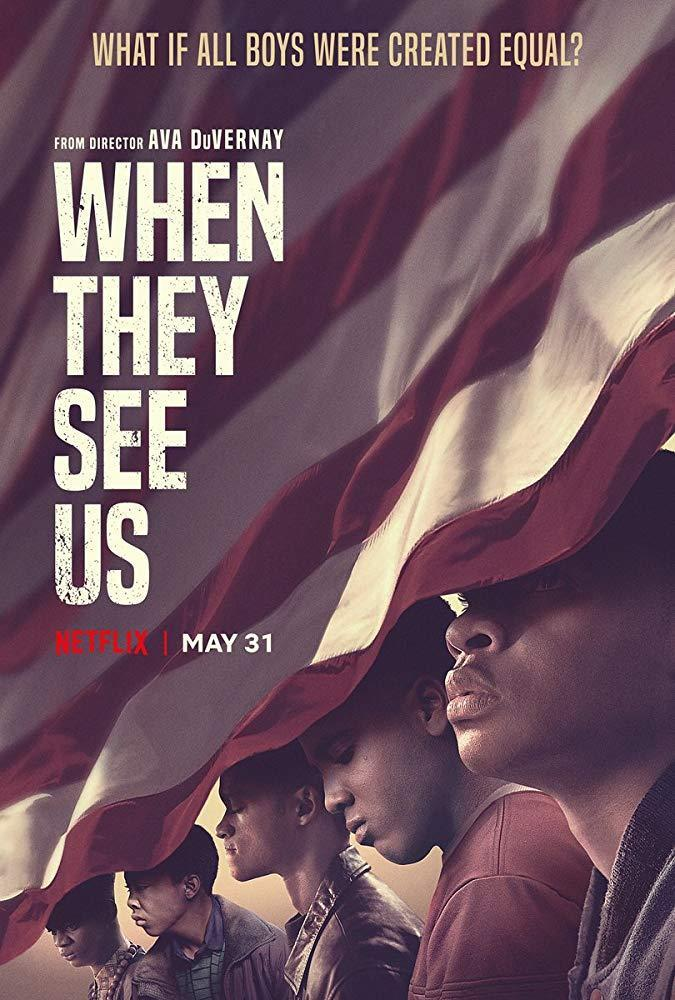 afiche de when they see us (así nos ven) de netflix