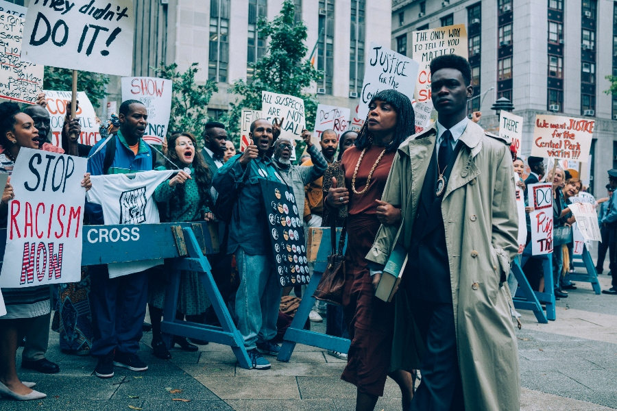 así nos ven, when they see us, serie de netflix